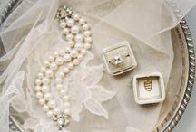 Wedding detail styling