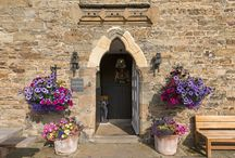 Weddings & Parties / An 11th Century Abbot's Guest House with vaulted rooms, flagstone floors, the biggest winter roaring fires and glorious summer gardens nestling in a pretty village amongst the North Pennine moors. The Crewe makes for a rather magical wedding & gathering venue!