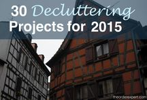 Declutter - 2016 items in 2016 / by Andrea Fulmer