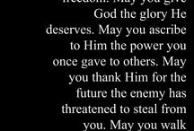 Prayers  / Prayer is the ANSWER to all circumstances! To God be the Glory....ALWAYS!  / by SUSIE ARREDONDO