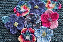 Knitted motifs