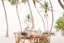 Beach Wedding Styling / Wedding ideas, trends and styling