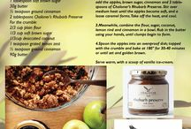 Chaloner Recipes / Recipes created by Chaloner, using Chaloner products.