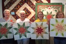 Quilt Classes / class projects and participants