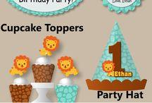 lion birthday party