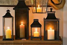 Lanterns and candles / Love the soft lighting created by lanterns and candles...especially beautiful outside under moonlight.  Turkish, Greek, Arabian, Moroccan and Thai lanterns are all especially beautiful.