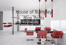 House of Rumpley Blog Posts / Showcasing blog posts from my site: House of Rumpley where I discuss interior design http://house-of-rumpley.com