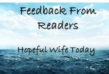 Feedback From Readers