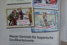 """Striezi - an scheena Gruaß aus Bayern! / """"Striezi®"""" ist ein urbayerischer Ausdruck für einen Strolch, Überlebenskünstler oder ewigen Stenz, der frech, teilweise unverschämt, seinen Charme gekonnt und gezielt einsetzt. Auf unseren Produkten wird Bayern in seiner liebenswerten, traditionellen und vielleicht manchmal etwas derben Art gezeigt. Für die junge bayerische Marke wird die Kommunikation und das Brandmanagement durchgeführt."""