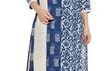 Lovely Indigo Churidar Suits