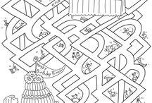 labirinti giochi bambini