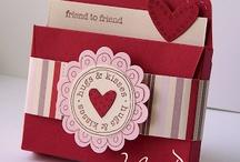 Stampin up Umschlag mit Zierlasche