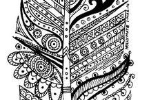 """рисунки """"чёрная ручка"""""""