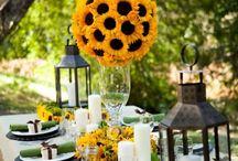 Sunflower yellow weddings