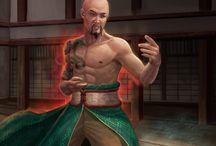 Kung Fu Characters