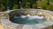 Browning Pools & Spas - Frederick MD Waterfall Construction