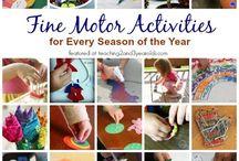 Preschool Sensory Bin/Fine Motor