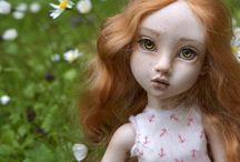 "BJD porcelain doll Eva by Olga Good ""Sweetest perfection"" / BJD doll by artist Olga Good  11 inch porcelain"