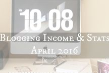 Blogging Income & Stats Reports