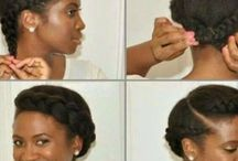 Natural Hairstyles / African Hair