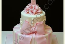 Baby cakes / Baby shower and other cakes / by Linda Mashni