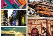 Colombia / Viajar por Colombia, una delicia! Y si, hay un riesgo ... el riesgo que te quieres quedar!