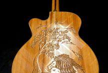 Guitars / The most popular instrument