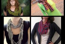 Scarves and how to tie them