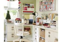 Home Office / by Yankee Doodle Designs {Christen Smith}