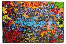 art by Hervé Di Rosa