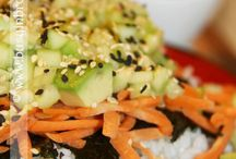 Food-Sushi / by Nirvana Leix