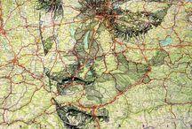 Potrait on maps