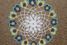 Crochet / Knitting Inspiration / I also Knit and Crochet.  Beautiful patterns inspire me!