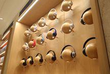Wall headphones