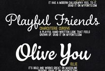 Typography Trends and Inspirations