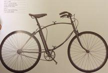 Bicicletas antiguas y modernas / Para quienes les gusta andar en bici...