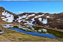 Prashar Lake and Parashar Rishi Temple / Pictures of Prashar Lake, Parashar Rishi Temple and Around. This lake is situated 49 KM from Mandi Town in Himachal Prashar. This Lake is famous for its floating Island and 13th century wooden temple.  / by Arvind Katoch