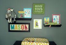 Home ~ M's Big Boy Room / by Virginia V