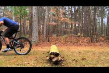 How to ride over large rocks and logs / Riding over large rocks and logs (log-overs)