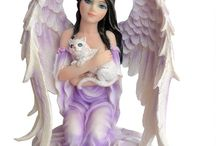 Angel Gifts & Collectables / Here are a selection of quality angel gifts and collectables. Angelic, Gothic, Steampunk and some of which are designed by fantasy artist Anne Stokes. Products include figurines, clocks, cushions, chalices, trinket boxes, mugs and more with Nemesis Now being one of the main brands.