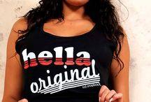 Hella Original Females / Ladies sporting their Hella Original gear  www.hellaoriginal.com / by Domonic Bearfield