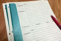 Get organized! / Printable and printed lists, charts, and planners. Also featured great tips, products, designs, and ideas for organizing your kitchen, home, and office!