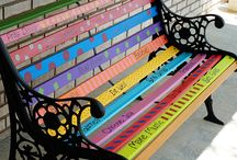 Bench paintings