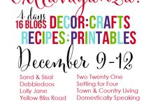Christmas Extravaganza / A group board of Awesome Bloggers sharing theirs and others amazing Christmas decor, crafts, recipes and more!