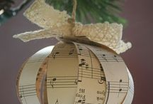 Granny's sheet music