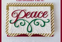 Handmade Christmas Cards / Card Ideas