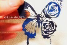 蝶、butterfly