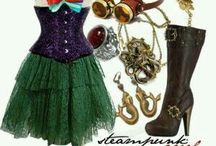 Мода в стиле стимпанк