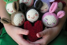 Amigurami / Cuties to crochet... / by Kim Chartier