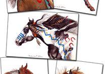 indian horses